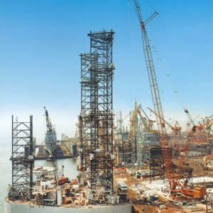 82_Oil_Rigs_Ingalls_Shipbuilding_Dascagula_MS